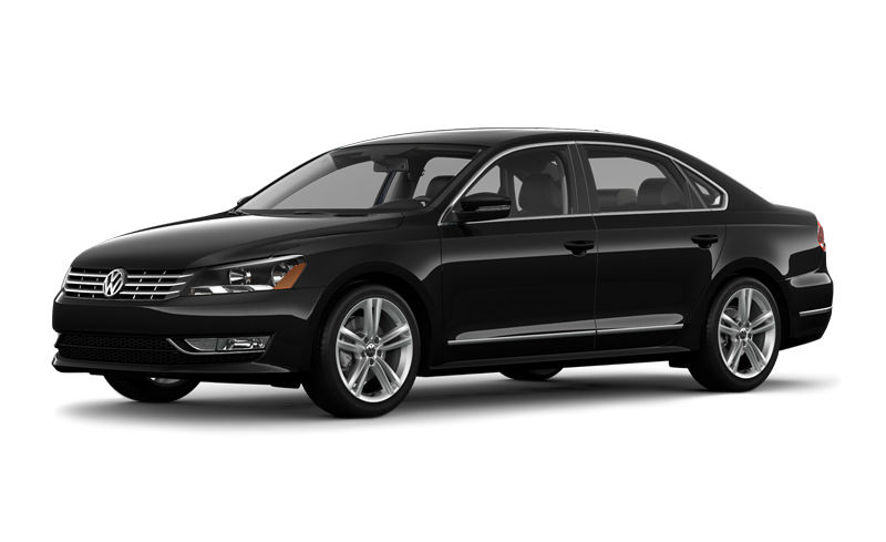 2015 Volkswagen Passat Black | Top Auto Magazine