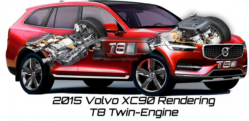 2015 Volvo XC90 T8 Twin Engine