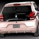 2015 Peugeot 108 Exterior