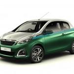 2015 Peugeot 108 Green