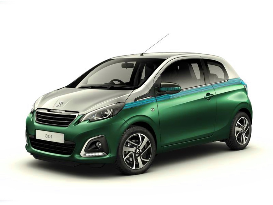 2015 Peugeot 108 Model