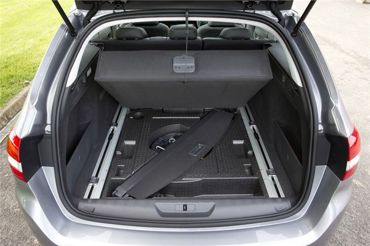 2015 Peugeot 308 SW Boot Space