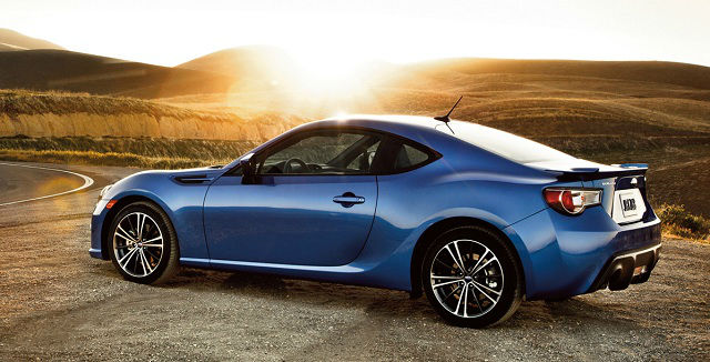 2015 Subaru BRZ Blue