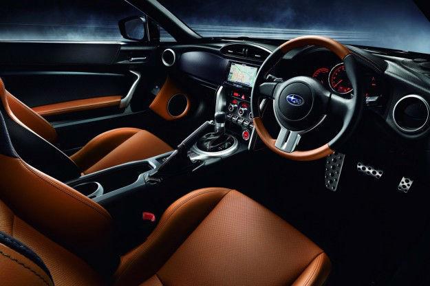 2015 Subaru BRZ Premium Interior