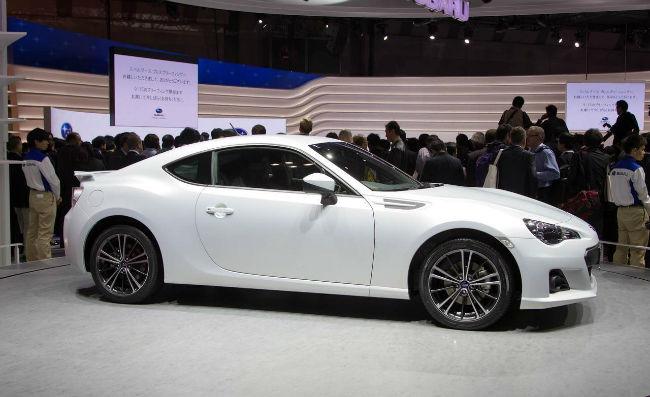 2015 Subaru BRZ Premium White