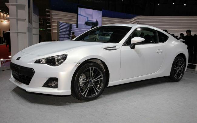 2015 Subaru BRZ White