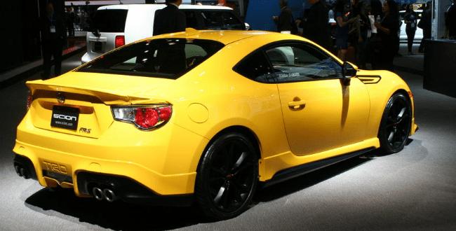 2015 Subaru BRZ Yellow