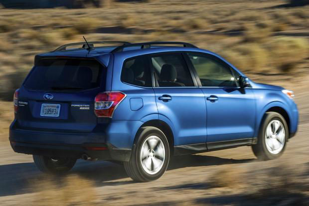 2015 Subaru Forester XT Blue