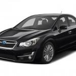 2015 Subaru Impreza Sedan Black