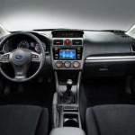 2015 Subaru Impreza Sedan Interior