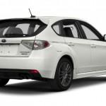 2015 Subaru WRX Hatchback White
