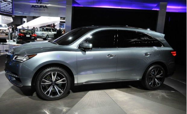 2015 Acura MDX 3.5L Advance and Entertainment Packages
