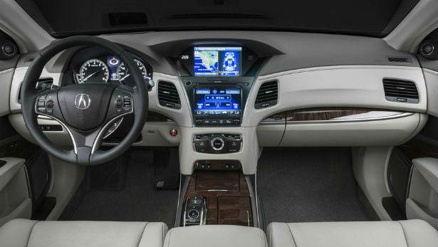 2015 Acura MDX Dashboard