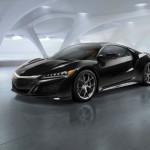 2015 Acura NSX Black