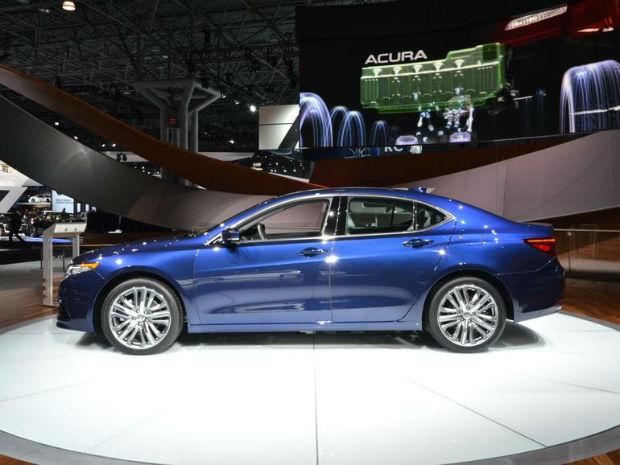 2015 Acura TL Blue | Top Auto Magazine