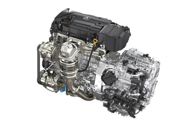 2015 Acura TLX Engine