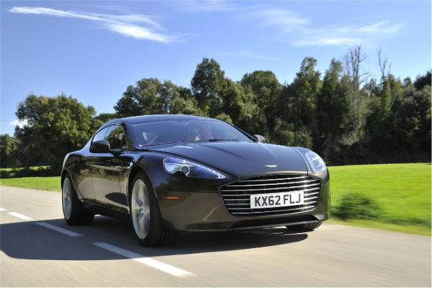 2015 Aston Martin Rapide S Kopi Bronze