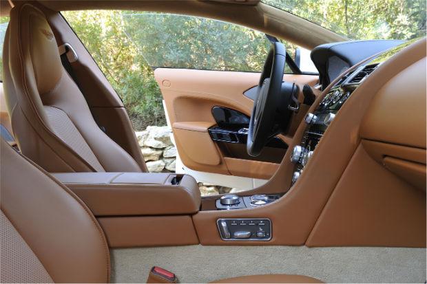 2015 Aston Martin Rapide S Stratus White Interior