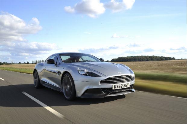 2015 Aston Martin Vanquish Skyfall Silver