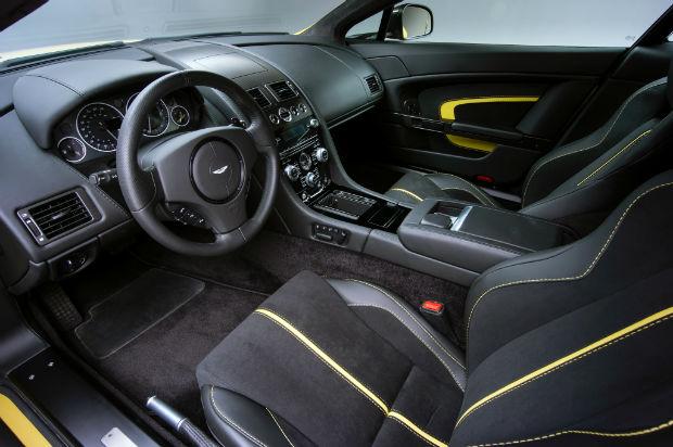 2015 Aston Martin Vantage S Interior