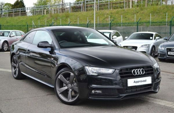 2015 Audi A5 Coupe Black