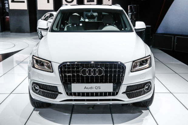 2015 Audi Q5 White Facelift