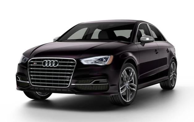 2015 Audi S3 Black