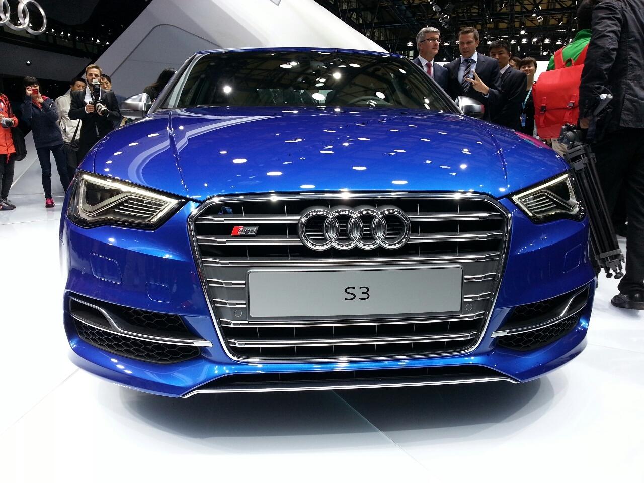 2015 Audi S3 Sedan Facelift