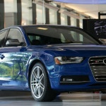 2015 Audi S4 Blue