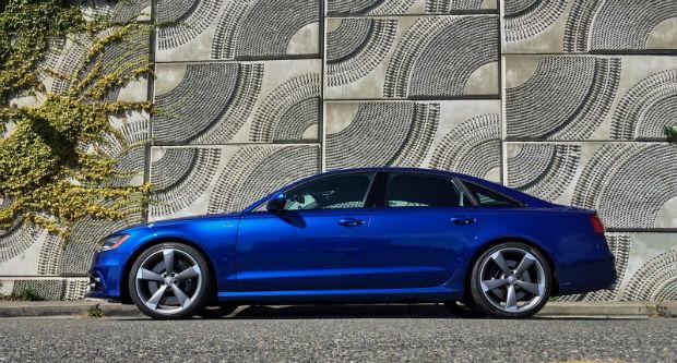 2015 Audi S6 Blue Top Auto Magazine