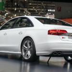 2015 Audi S8 White