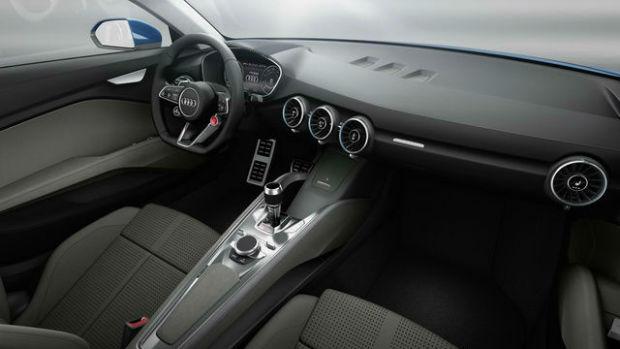2015 Audi TTS Interior