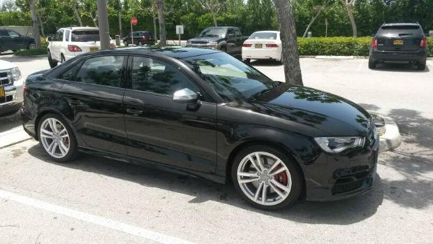 2015 Audi TTS Panther Black