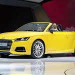 2015 Audi TTS Roadster Yellow