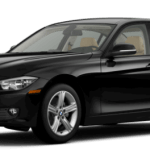 2015 BMW 3 Series Sedan Black