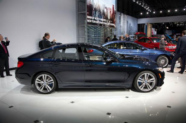 2015 BMW 4 Series Black