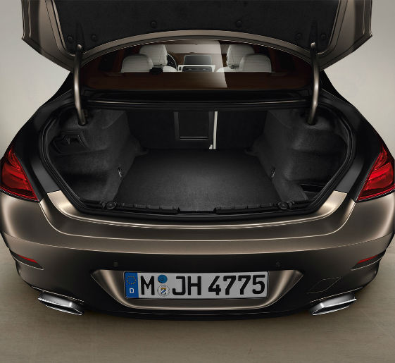 2015 BMW 4 Series Gran Coupe Trunk