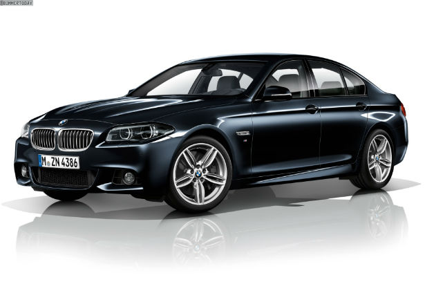 2015 BMW 5 Series Black