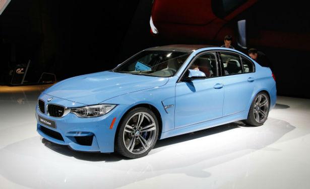 2015 BMW M3 Blue