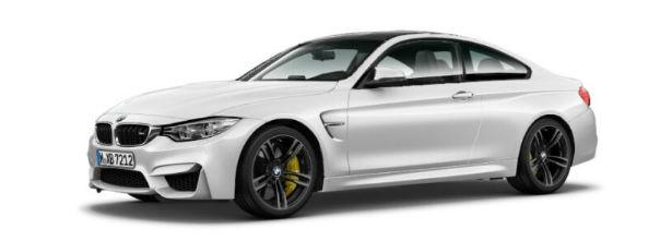 2015 BMW M3 Coupe White