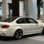 2015 BMW M3 Sedan White
