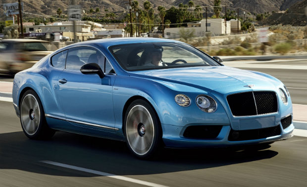 2015 Bentley Continental GT Blue