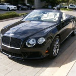 2015 Bentley Continental GT Convertible Black