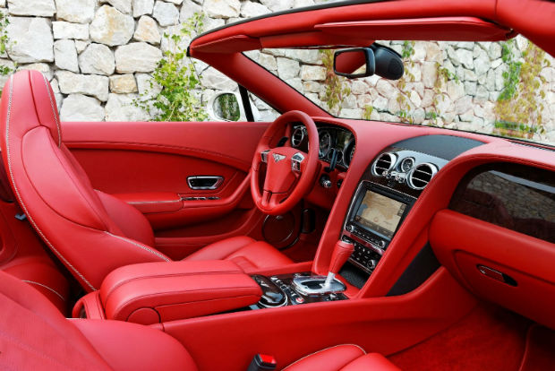 2015 Bentley Continental GT Convertible Interior