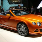 2015 Bentley Continental GT Convertible Model