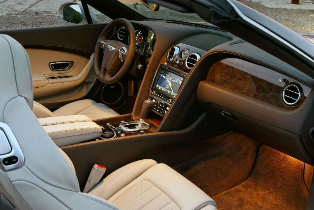2015 Bentley Continental GT Interior