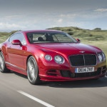 2015 Bentley Continental GT Red