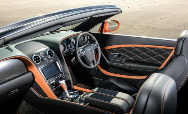 2015 Bentley Continental GTC Interior