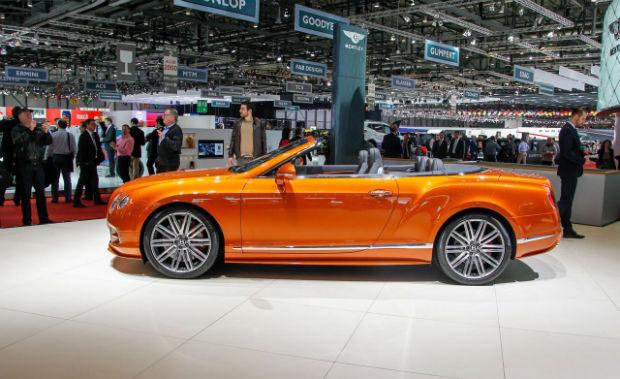 2015 Bentley Continental GTC Speed Convertible