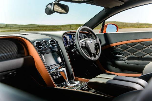 2015 Bentley Continental Interior